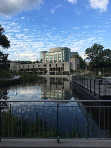 AOK Library and pond